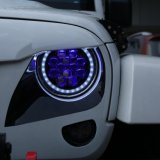 Jeep Wrangler Tj Jk Sahara Rubicon 60W Hi/Lo 7inch LED Headlight