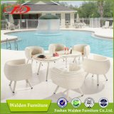 Rattan 6 Seating Table Set (DH-9639)