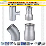 DIN 2353 304/316/316L Stainless Steel Groove End Fittings