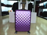"Purple Color ABS Trolley Luggage Travel Luggage Bag 20""/24"" Luggage Set"
