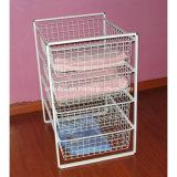 Free Standing Wire Clothes Storage Organizer (LJ4012)