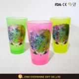 16oz Black Light Pint Glass with Foil Printing