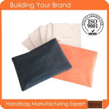 China Wholesale Handmade Stylish Leather Women Clutch Bags