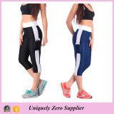 2015 Hot Sale Women′s Running Capri Tights Fitness Leggings (50116)