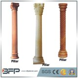 Natural Granite/Marble Stone Hollow Roman Column Pillar for Decoration