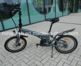 MID Mounted/Center Motor/Chain Drive Foldable 250W E Bike/Electric Bike/Bicycle/Pedelec W Built-in/Inside Frame Battery