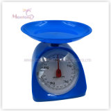 19*14.5*1.57cm Plastic Mechanical Kitchen Scale (scale: 5kg)
