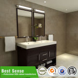 Rectangle Double Ceramic Wooden Bathroom Cabinet