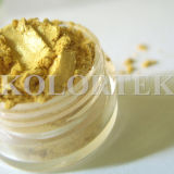 Pearlescent Effect Metallic Pigments for Cosmetics