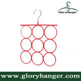 Wholesale Metal Scarf Clothes Hanger for Woman Garment PVC Steel Display Rack Pant Hanger (GLMH001)