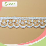 Hot Selling Embroidery African Water Soluble Chemical Lace for Wedding