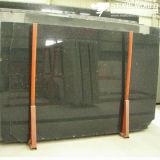 Polished Black Galaxy Granite Slab for Flooring/Wall