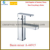 Square Brass Bathroom Wash Water Basin Mixer
