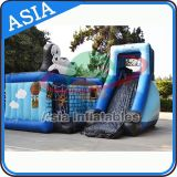 Party Hire Inflatable Casper Ghost Bouncer and Slide Combo