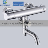 Brass Thermostatic Bathtub Bathroom Water Faucet Mixer