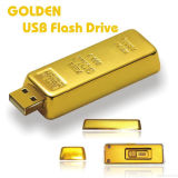 Metal Bullion Shape USB Flash Memory Stick