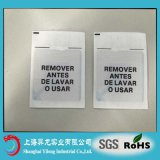 58kHz EAS Security System Custom Design Woven Label RF Soft Sticker