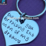 Factory Directly Wholesale High Quality Custom Souvenir Metal Best Daddy Ever Keychain, Best Father Gift