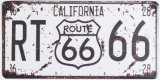 Top Quality Route 66 Custom Metal Sign for Wall Decoration