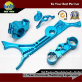 CNC Aluminum Bike Brake Levers/Upper Clamp with Blue Anodized