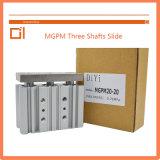 Mgpm 20type Three Shafts Slide Cylinder Pneumatic Cylinder