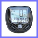 Portable Wireless Digital Bike Speedometer Pedometer Watch Electronic Computer