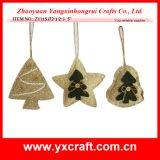 Christmas Decoration (ZY11S372-1-2-3) Christmas for Holiday Gifts Christmas Fabric