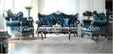 American Style Sofa Wooden Fabric Seating Sofa Set (1106A+B+C)