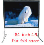 Fast Folding Screen Mobile Movie Screen Projector Portable Screen