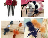 Mink Poms Use for Gloves/Hat/Shoes/Clothes