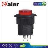 Illuminated Plastic Push Button Switch; Push Switch (R16-504AD/R16-504BD)