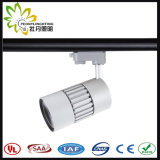 2/3/4 Wires COB LED Track Spot Light 20W with 10/23/38 Degree Beam Angle