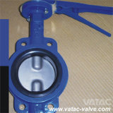 High Performance Wafer Grooved Butterfly Valve EPDM Lining