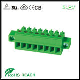 3.5/3.81mm Pitch Female Connector with Screw