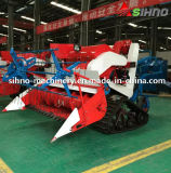 Self-Propelled Full Feeding Type 4lz-0.7 Mini Combine Harvester
