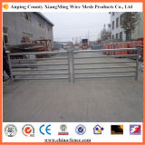 Heavy Duty Oval Rails Galvanized Sheep Panels