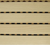 Excellent Sound-Absorbing Performance Veneer Wooden Grooved Acoustic Panel