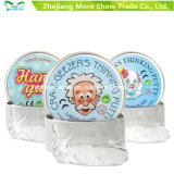 Clear Hand Putty Slime Magnetic Rubber Mud Clay Intelligent Toys