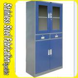Keenhai Blue Stainless Steel Cheap Lockable Storage Cabinet Price