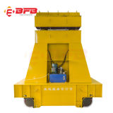 Battery Operated Rail Transfer Vehicle for Steel Coil on Rails