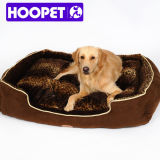 Luxury Pet Dog Bed Wholesale Bolster Dog Bed with Pillow