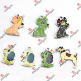 Enamel Colorful Dog Pendant Jewelry Fashion Accessories Wholesale (MPE123)