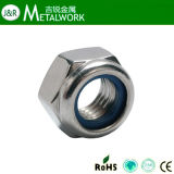 Stainless Steel 304 / 316 Hex / Hexagon Nylon Lock Nut (DIN985)