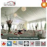 Luxury White Wedding Tent with Chairs and Tables for Event