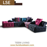New Classic Post Modern Living Room Furniture Fabric Sofa