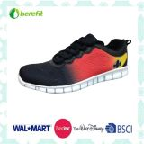 Men′s Casual Shoes with PU Upper, Bright Printing
