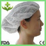 Disposable Non Woven Nurse Cap/Bouffant Cap/Round Cap
