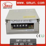 60W 48V 1.25A Switching Power Supply Rainproof IP40
