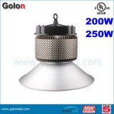 High Efficiency Indoor Factory Industrial Warehouse 250W 200W 100W 80W 60W LED High Bay Light