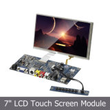 SKD LED 7 Inch VGA Monitor with 4-Wire Resistive Touch